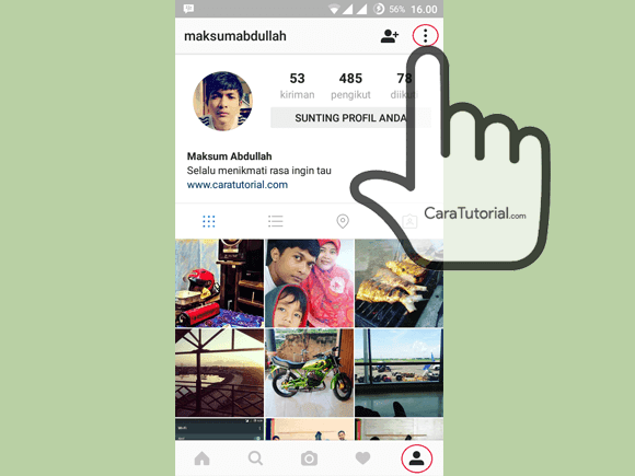More Instagram Android