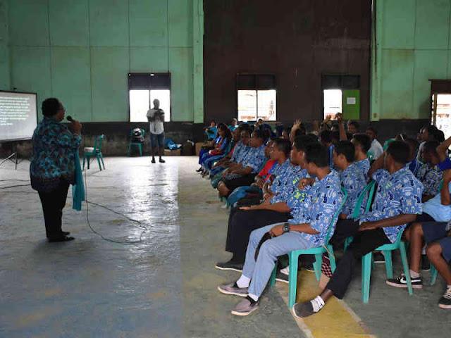 Satgas TMMD Boven Digoel Gelar Sosialisasi Pembinaan Keluarga Berencana
