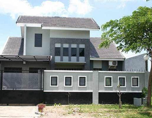 Model Pagar Tembok Minimalis Depan Rumah