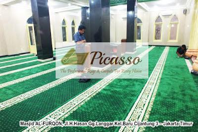 Karpet masjid import, Karpet sajadah, karpet masjid