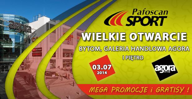 Pafoscan Sport - Galeria Agora Bytom