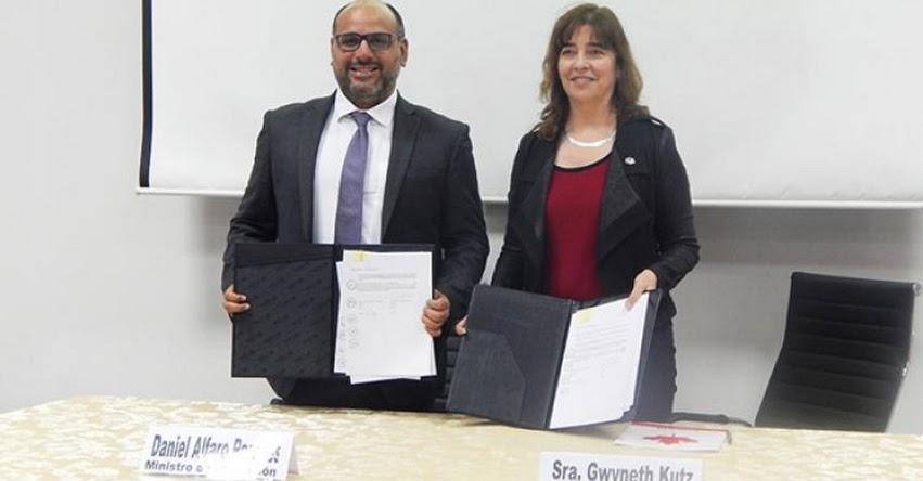 MINEDU y Gobierno de Canadá firman convenio para potenciar la educación tecnológica - www.minedu.gob.pe