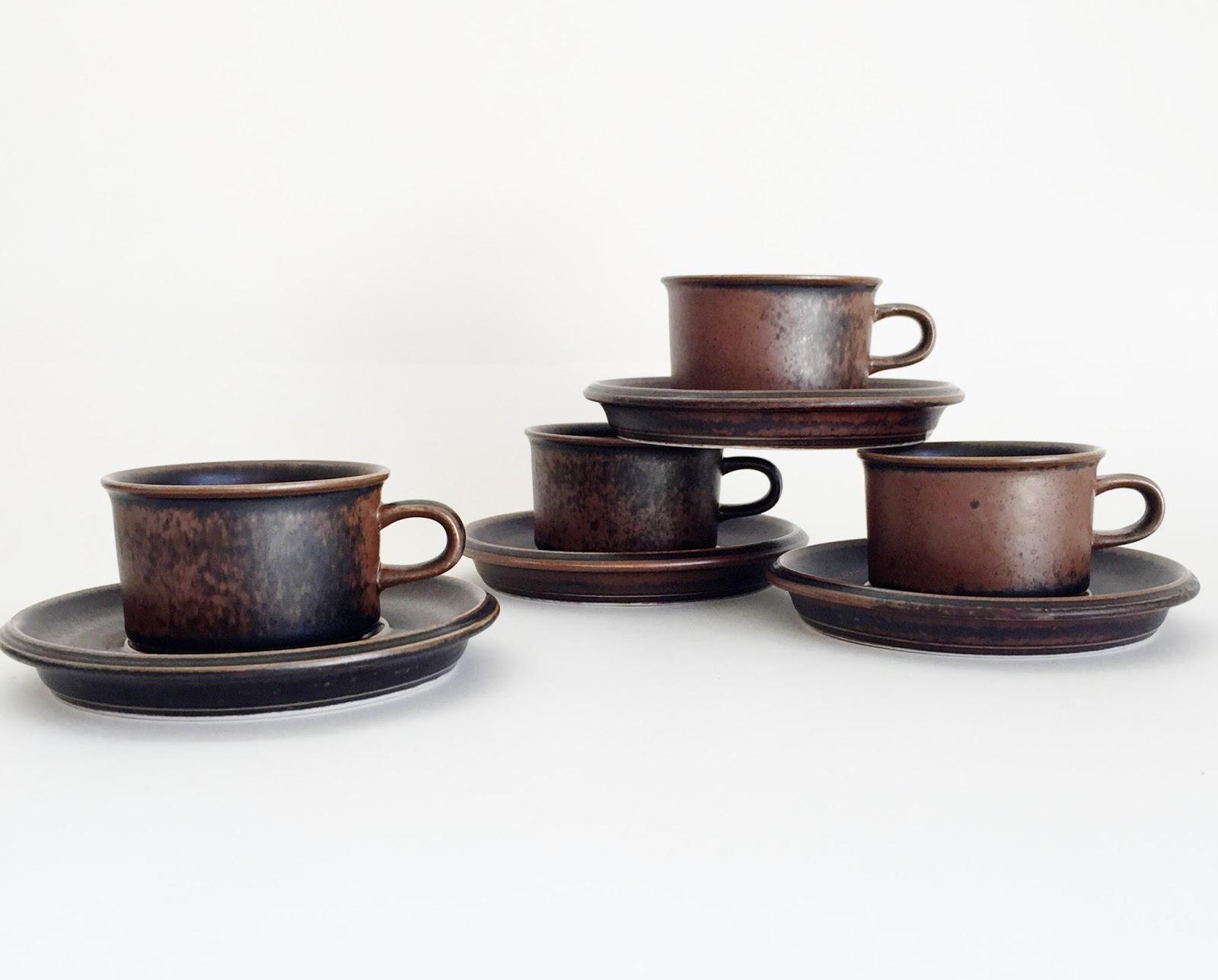 Arabia Ruska Demitasse/Espresso Cups & thankhugh: March 2016