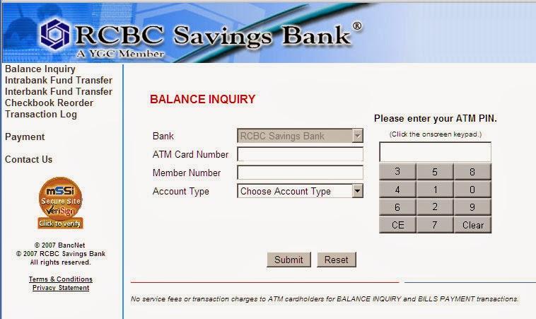 check your atm balance online pnb