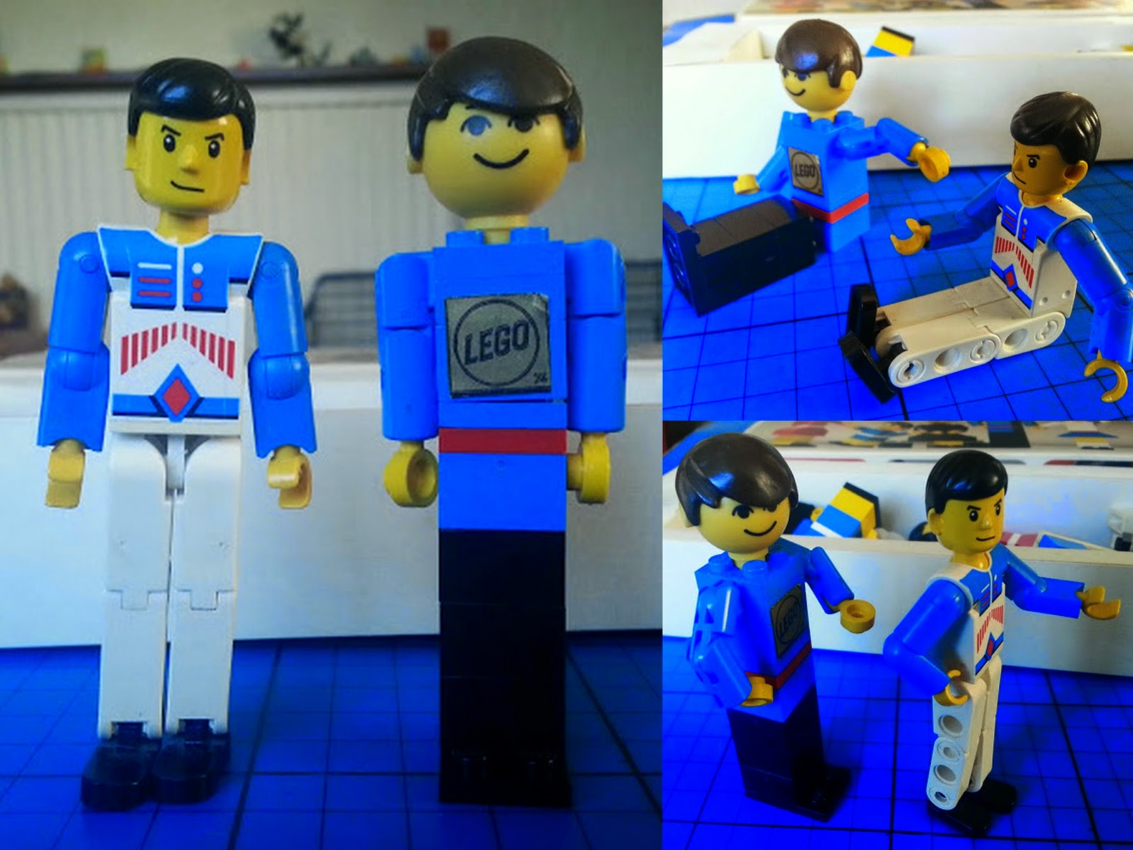 LEGO Family maxi figure and Technic man