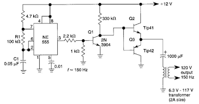 simple dc ac inverter circuit diagram electronic circuit diagrams schematics