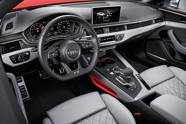 Interior Audi S5 2016