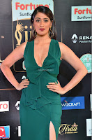 Laxmi Rai in a Deep neck Beautiful Green Gown Cute Actress Laxmi Rai ~  035.JPG
