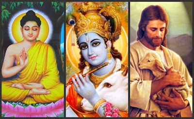 Hesus Krishna/General Ancient Religious Figures and Myths   - Page 2 Buddha-krisha-jesus