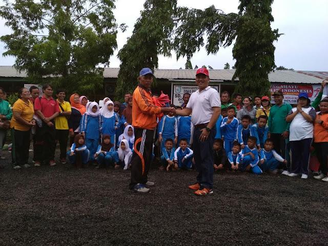 LPM Unimed Dampingi Guru Penjas SD Serdang Bedagai