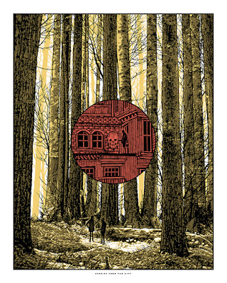 dan mccarthy Stories from the Forest print