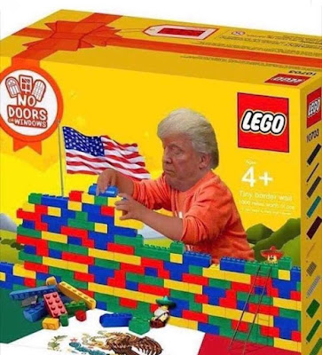 News Alert : The USA is starting to build the Mexico wall