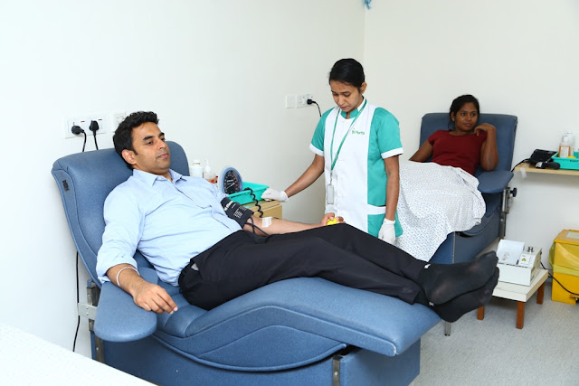 Fortis Hospitals Bangalore - Blood Donation Day