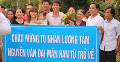 Cựu TNLTNguyễn Văn Oai bị bắt một cách mờ ám