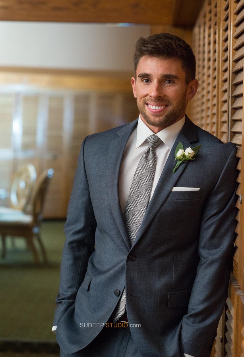 Best Groom Wedding Portraits - Ann Arbor Wedding Photographer Sudeep Studio