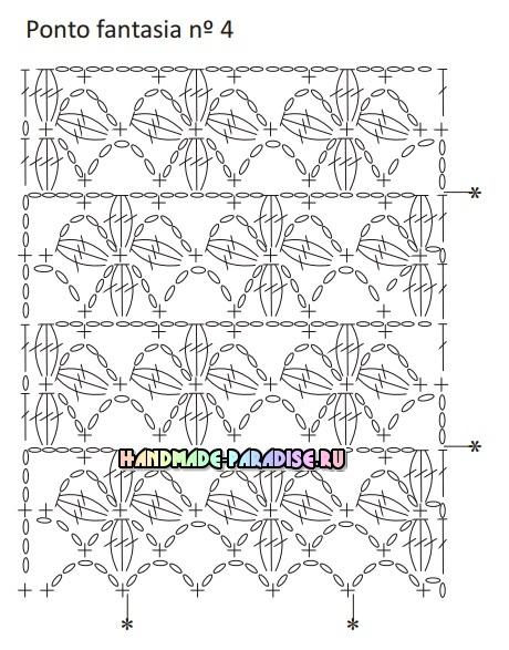 Роскошная длинная юбка крючком. Схемы вязания (4)