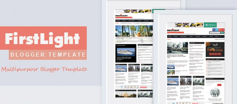 10 Best Responsive Magazine Newspaper Blogger Templates