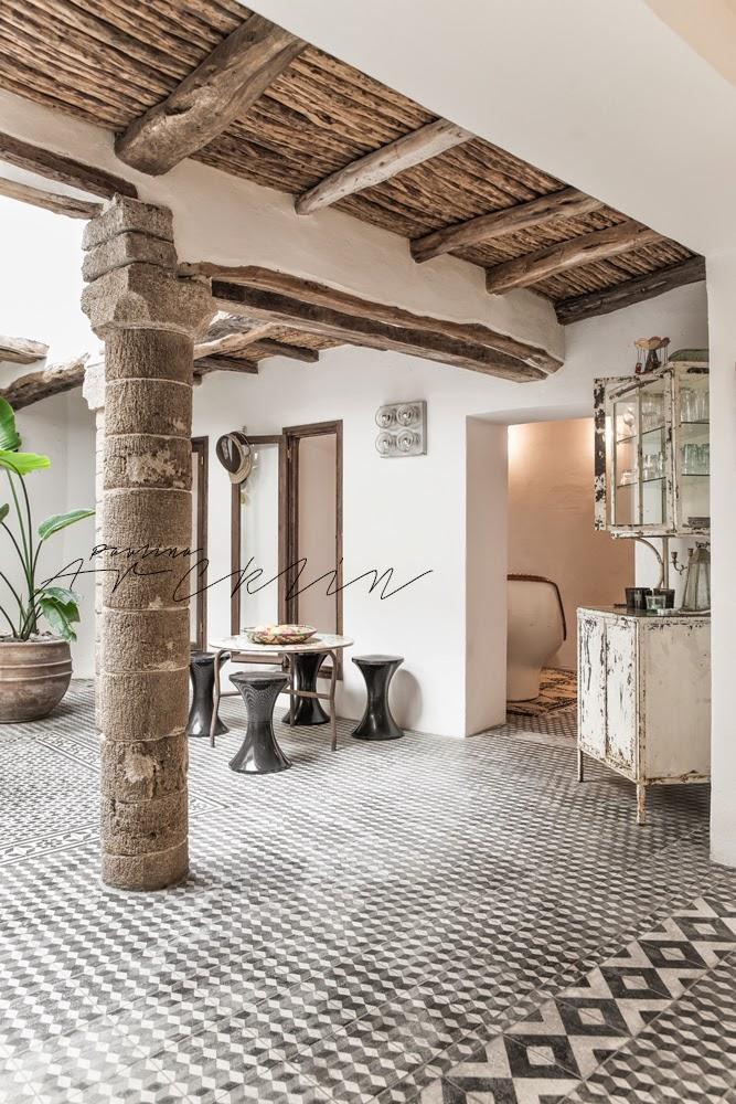 5 Columns Riad In Essaouira Morocco By Paulina Arcklin
