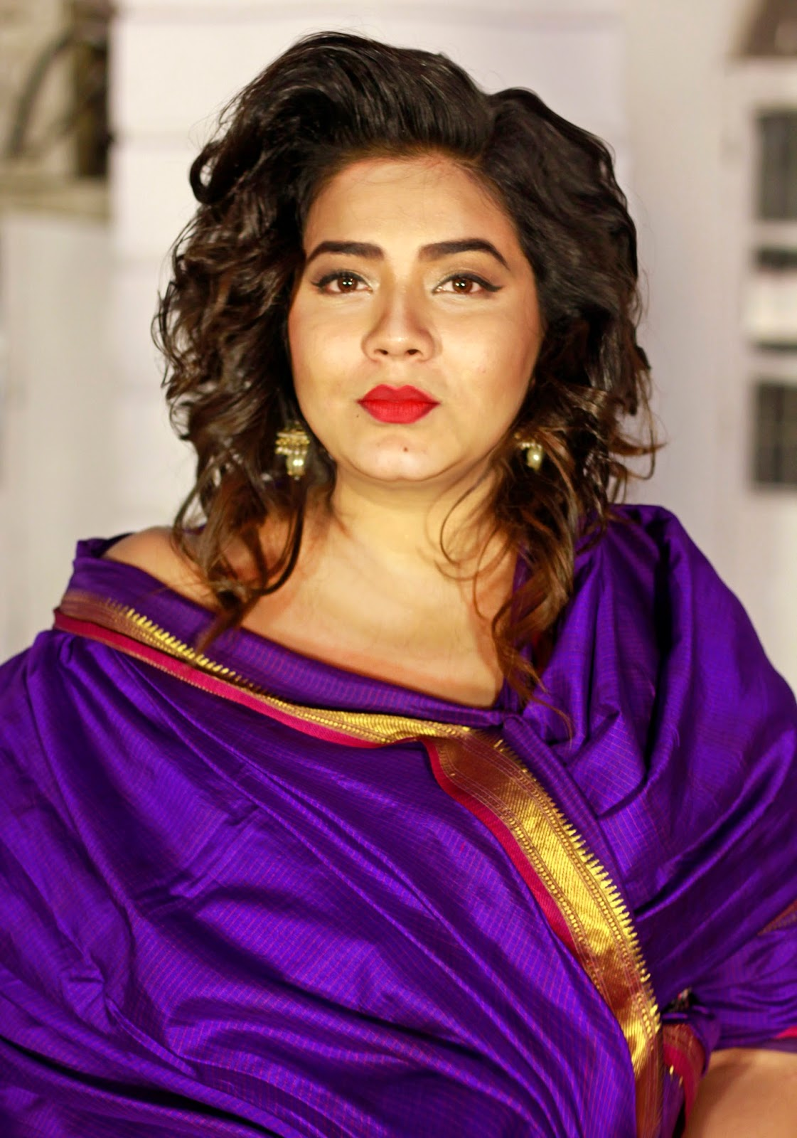 Plump To Pretty Sorry Not Saree