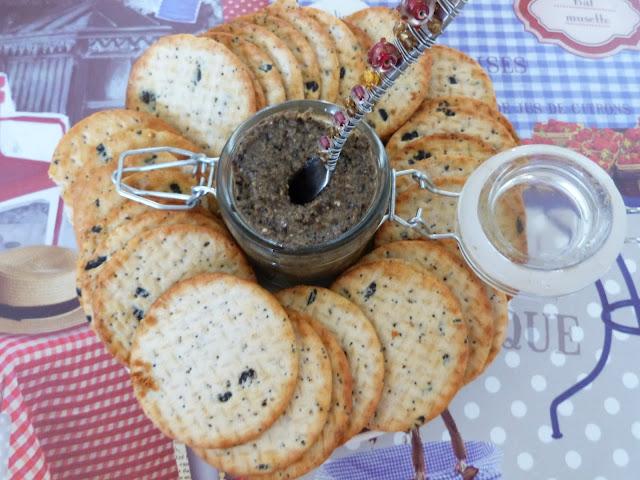 Tapenade d'olives noires sans anchois