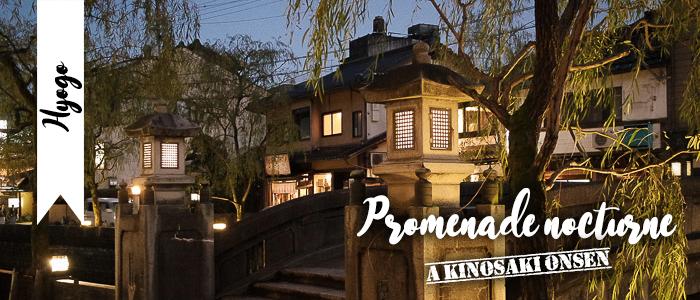 Promenade nocturne à Kinosaki onsen