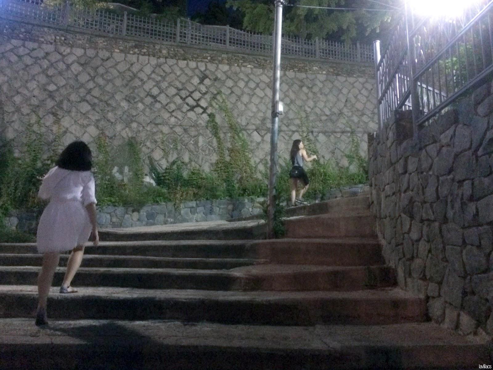 Seoul, Korea - Summer Study Abroad 2014 - Walk towards Namsan Cable Car