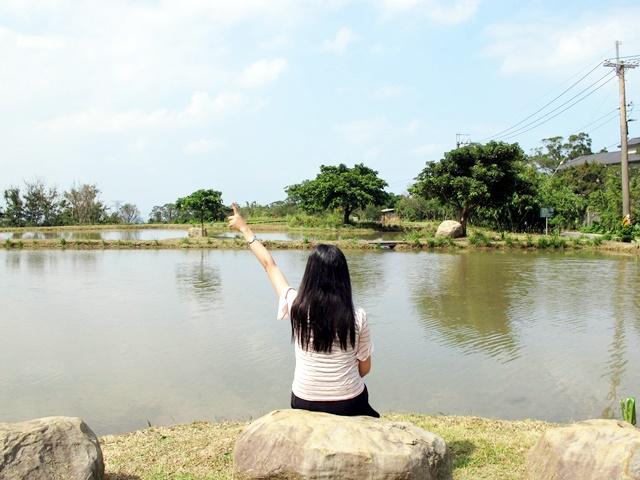 田心子。水中央
