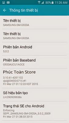 Tiếng Việt Samsung G920A  alt