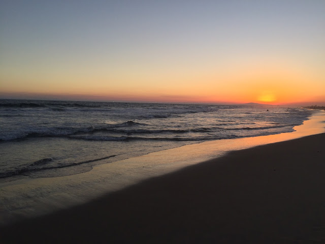 Newport Beach, CA sunset