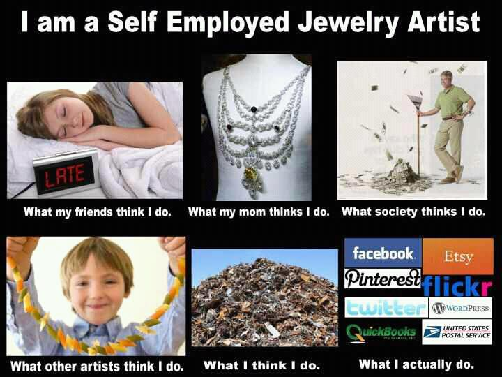 jewelry memes what other think you do the beading gem s journal 7553