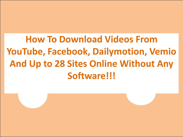 how to download youtube videos without any software or websites