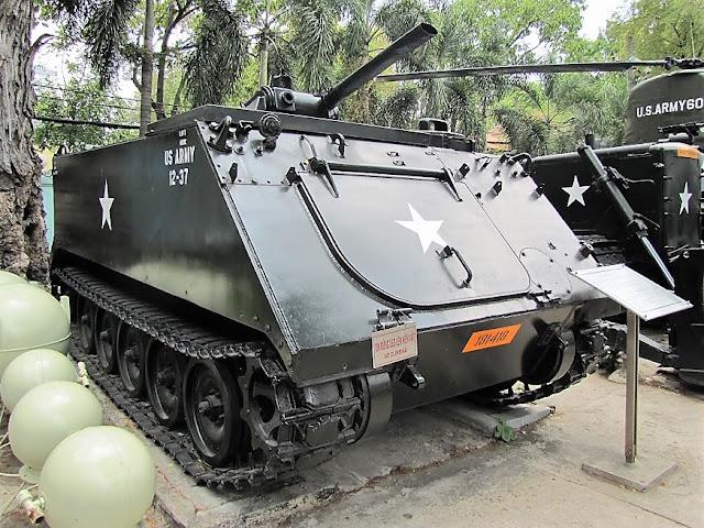 tank war museum siagon vietnam