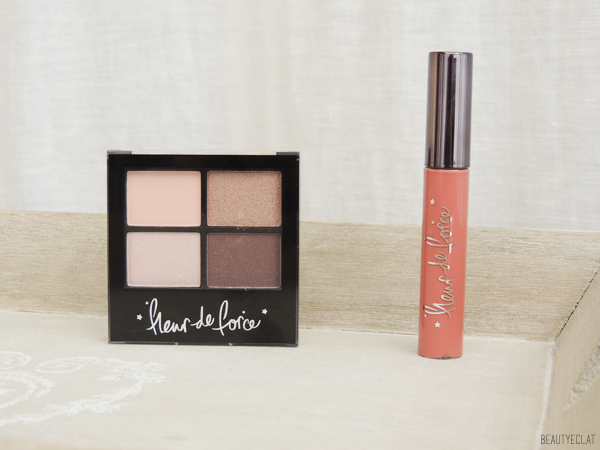revue avis test swatch maquillage fleur de force feelunique