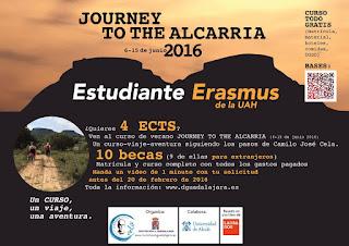 Journey to the Alcarria, JTTA, Viaje a la Alcarria, Centenario Cela, Arte en Marcha, Diputación de Guadalajara, Universidad de Alcalá, UAH, Guadalajara, Alcarria