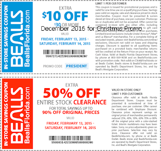 Bealls coupons for december 2016