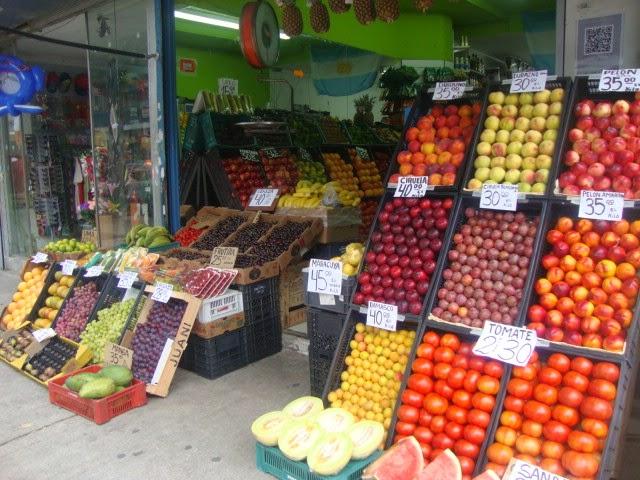 Frutaria no Barrio Chino