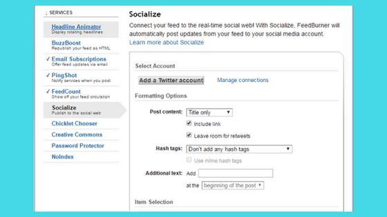 Cara Auto Share Posting Blog Ke Twitter Menggunakan FeedBurner