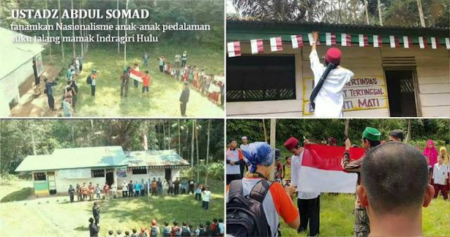 Kalian Pertanyakan Nasionalisme Ust. Abdul Somad? Apa yang Telah Kalian Lakukan Untuk NKRI Dibanding Beliau?