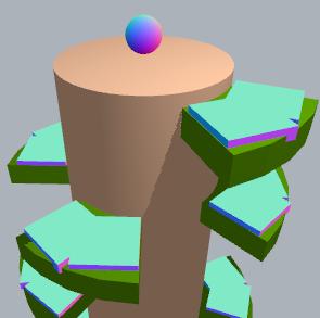 Game development tutorial: Helix Jump development tutorial using
