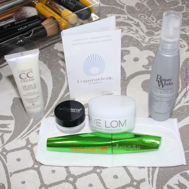 LookFantastic Beauty Box August 2015 review, unboxing