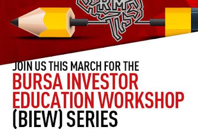 Bursa Investor Education Workshop (BIEW) Series