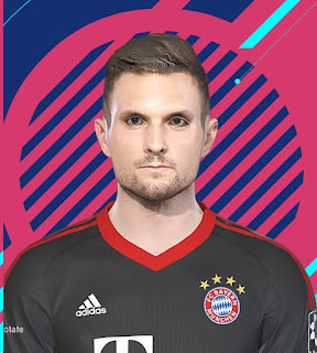 PES 2018 Faces Sven Ulreich by Kelvinchan327