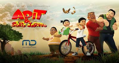 Adit Sopo Jarwo serial animasi indonesia yang dbuat dengan Blender 3D