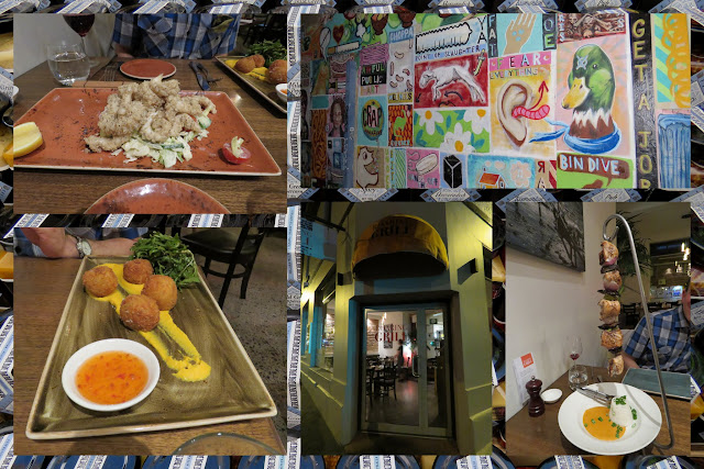 Roaring Grill in North Hobart - Exploring Hobart, Tasmania on a Weekend City Break from Sydney Australia