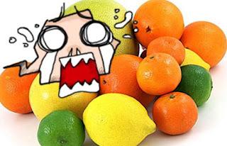 ANPC pareri negative citrice cu IMAZALIL E233