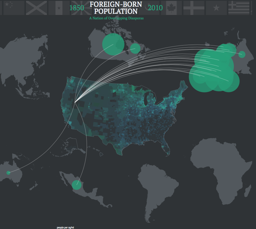 US History Teachers Blog American Immigration The Best - Map of immigrant diasporas across the us