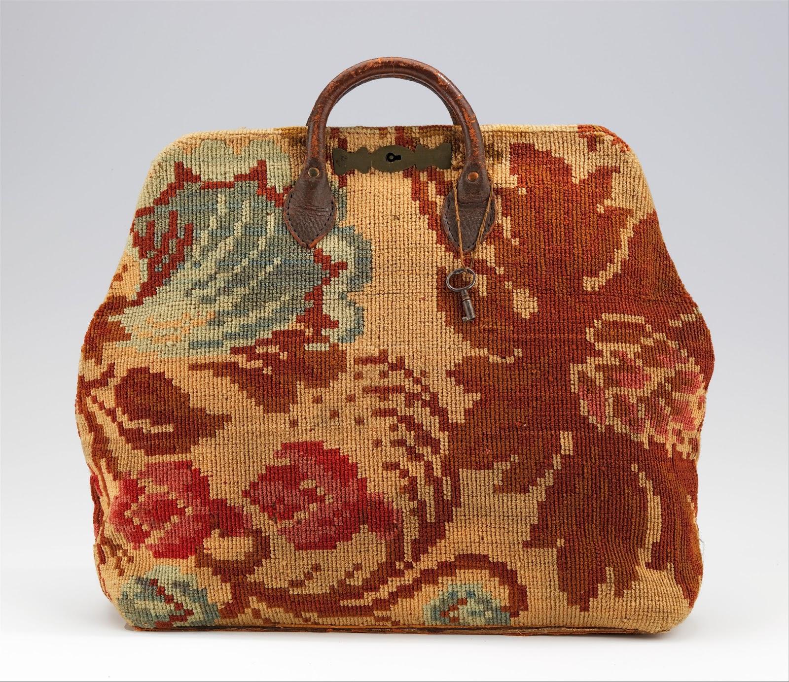 Costume Diaries Victorian Carpet Or Traveler Bag
