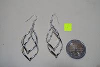 Vergleich: DeloveOhrhänger mit 2 fach gedrehten Spiralen Elementen, 925 Sterling Silber pl., Ohrringe, Damen Schmuck, Geschenk