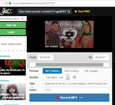 Video to mp3 convert yout