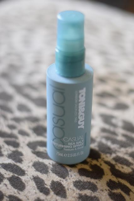 sea salt texture spray